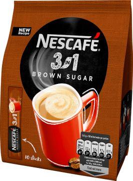 Nescafé Classic Brown Sugar instantní Káva 3v1 10 ks