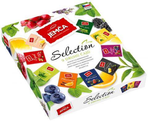 Selection - kolekce 9 druhů ovocných čajů 36x2g Jemča