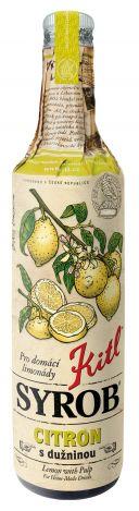 Kitl (sirupy, medovina) Syrob Citron - citrónový sirup 0,5l Kitl