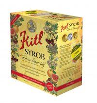 Kitl (sirupy, medovina) Syrob Citron - citrónový sirup 5l Kitl - velké balení