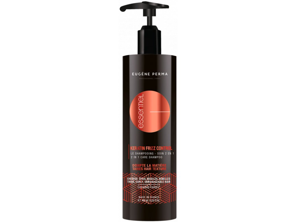 Eugene Perma Keratin Frizz Control Shampoo 2v1 400 ml