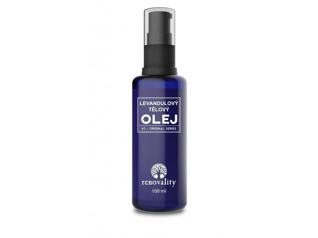 Renovality Levandulový olej 100 ml