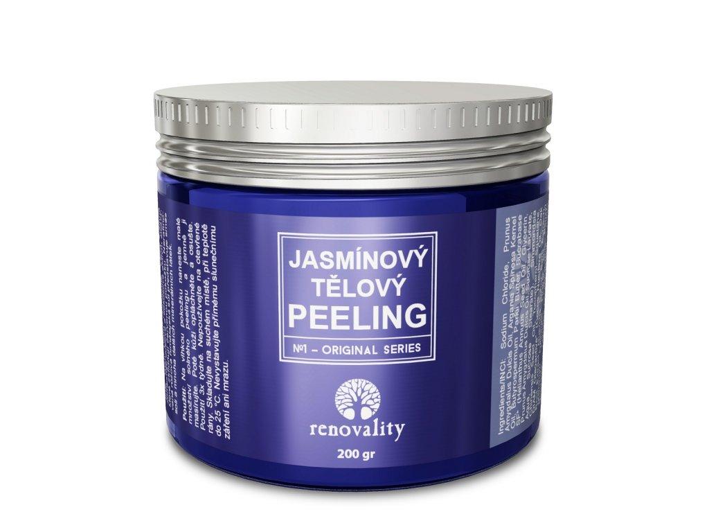 Renovality Jasmínový tělový peeling 200 gr