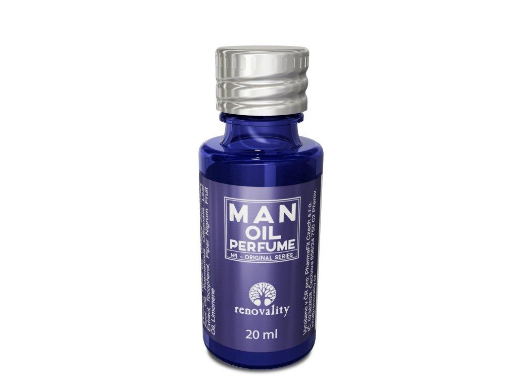 Renovality Man oil perfume - parfémovaný olej pro muže 20 ml