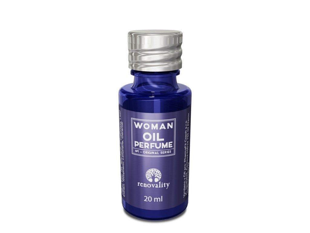 Renovality Woman oil perfume - parfémovaný olej pro ženy 20 ml