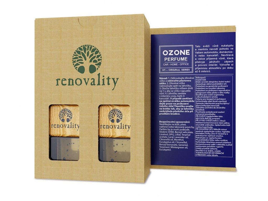 Renovality Ozone car parfume - aroma difuzér