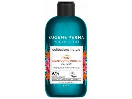 Eugene Perma Sun Shower Shampoo 300 ml sprchový šampon pro vlasy a tělo