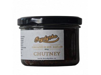 Chutney - Cibulové se sušenými rajčaty