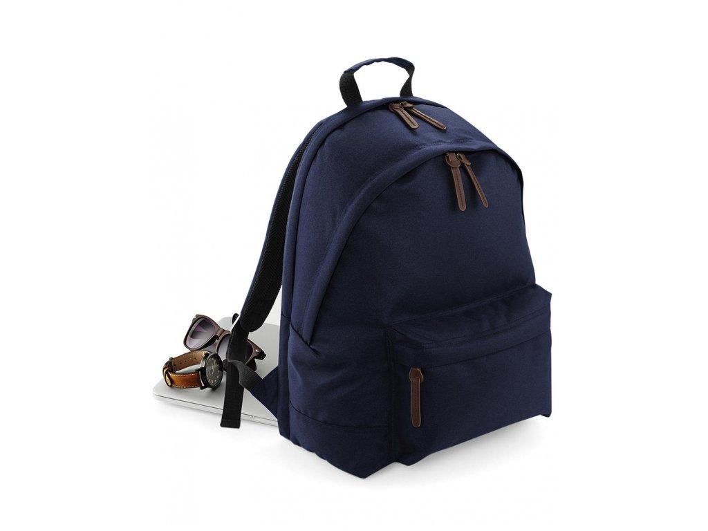 Batoh modrý přední strana
