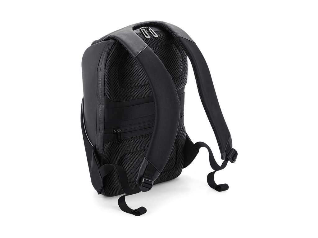 Černý batoh Security (Barva Black, Velikost One Size)