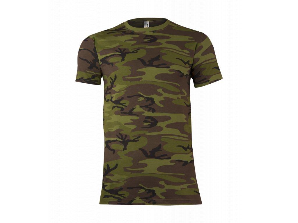 pánské camo tričko