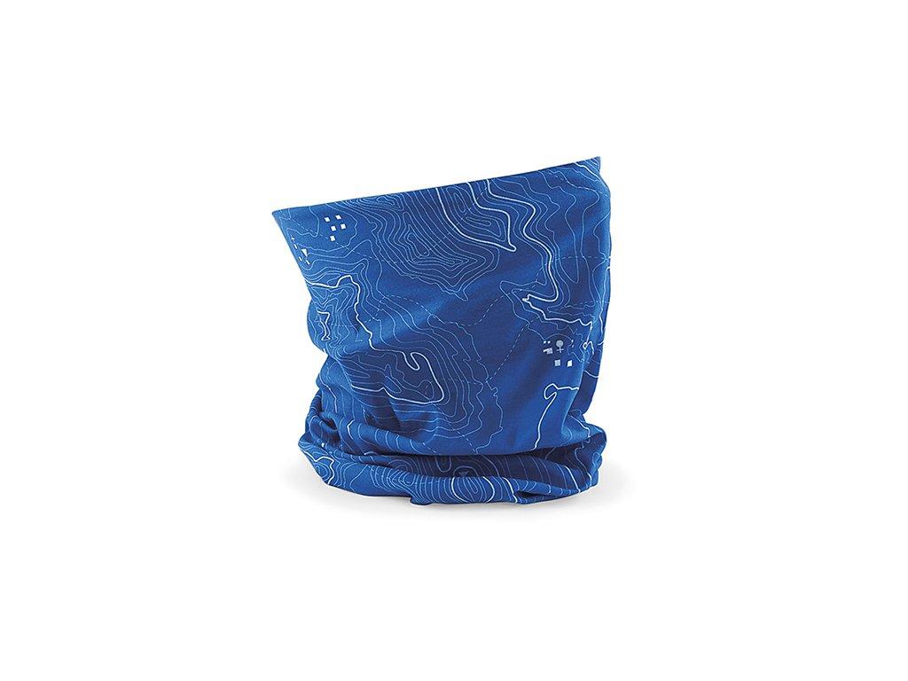 nákrčník contour modrý