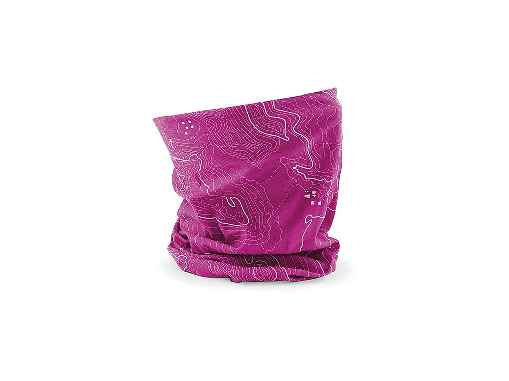 nákrčník contour růžový