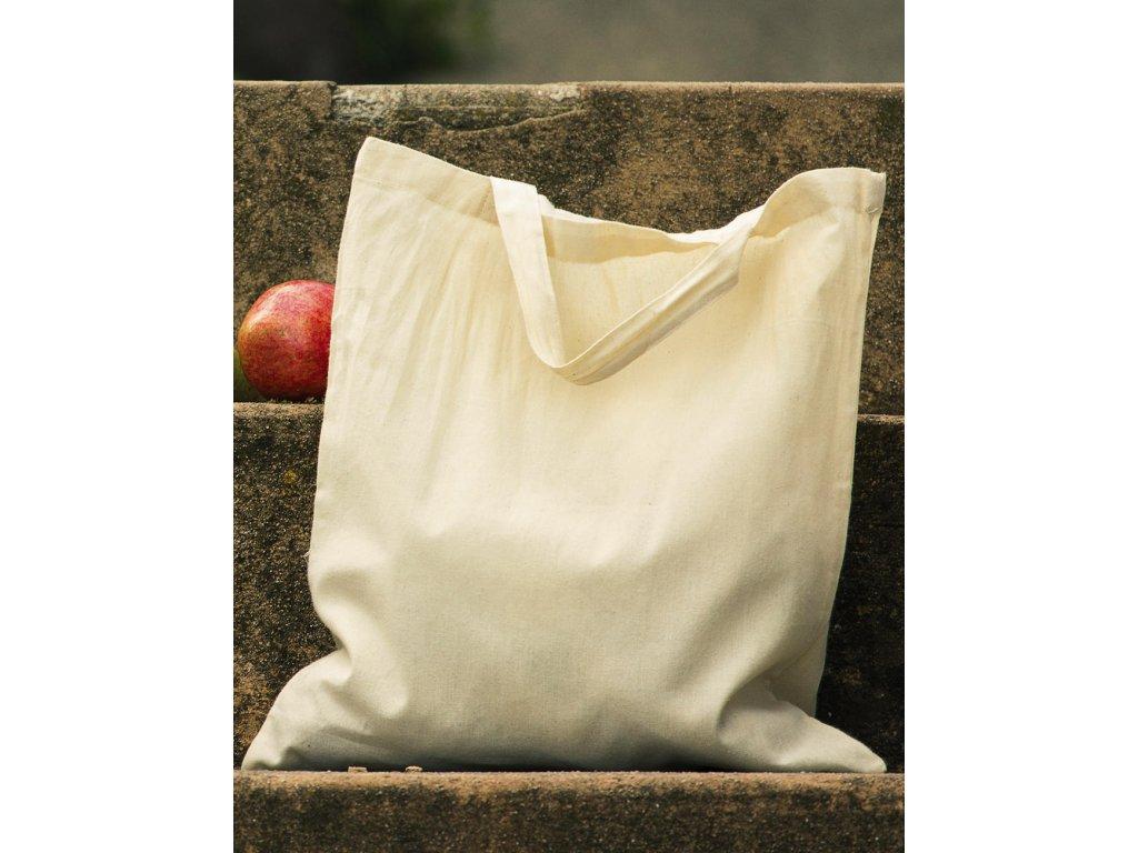 100% bavlněná organic taška (Barva Black, Velikost One Size)