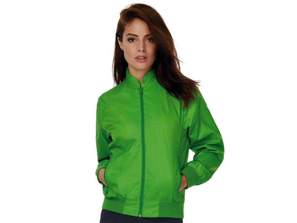 Bunda dámská Trooper/women (Barva Real Green/Neon Orange, Velikost 2XL)