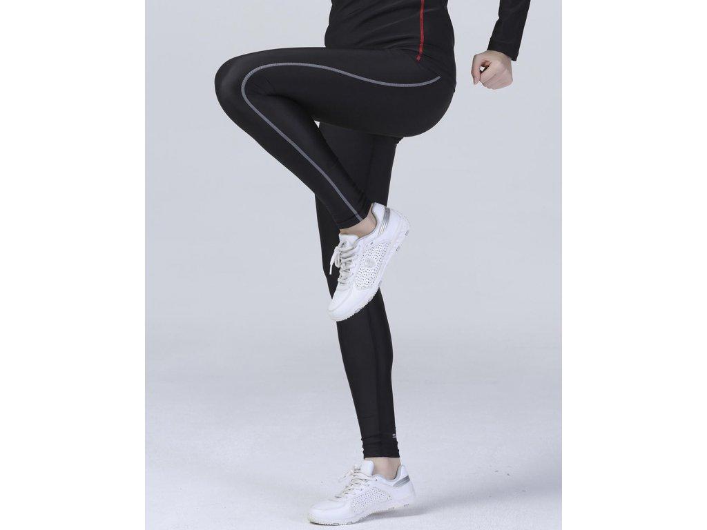 Dámské legíny Bodyfit (Barva Black, Velikost XL/2XL)