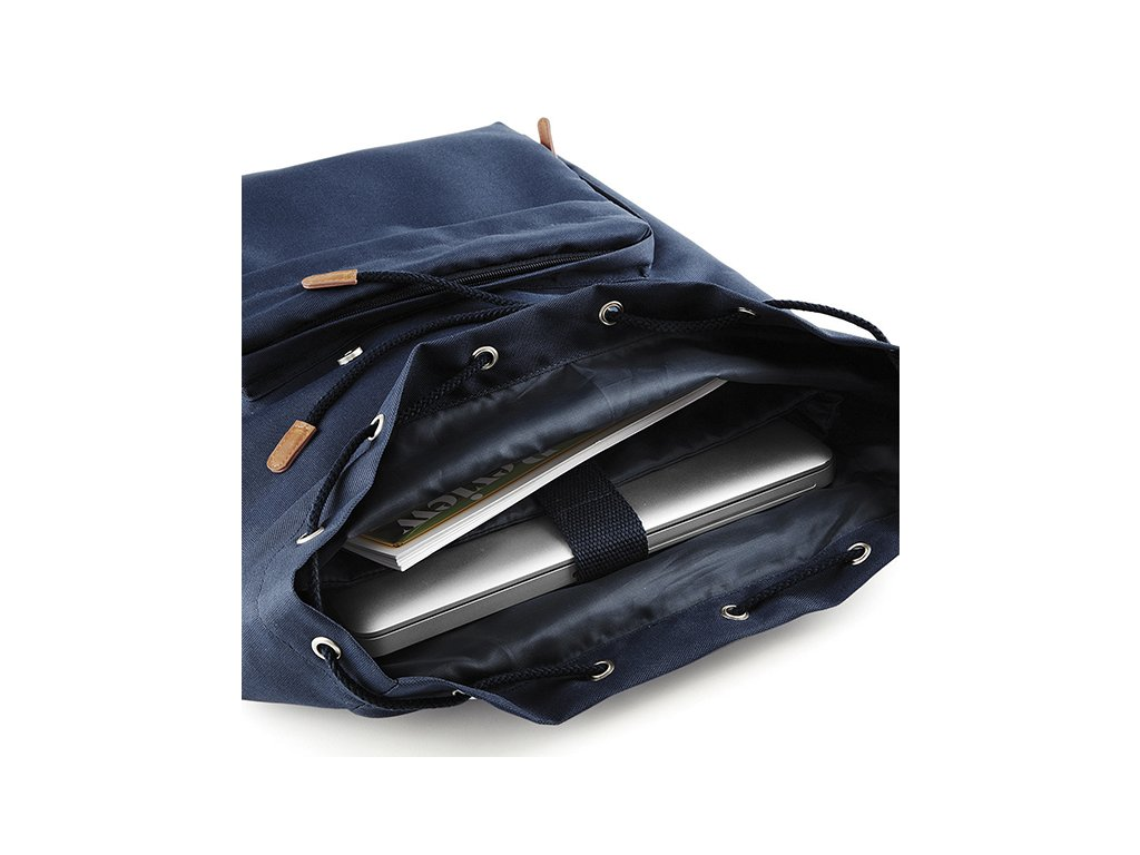 8f2c13e3e31 ... Batoh na notebook Vintage modrý vnitřní organizér ...
