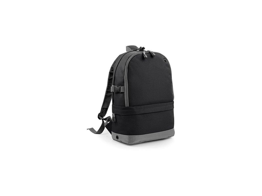 Sportovní batoh černý přední část