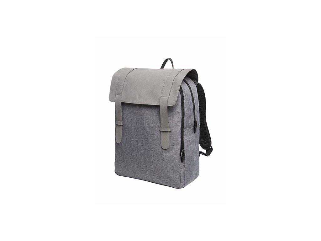 Batoh na notebook Backpack šedivý