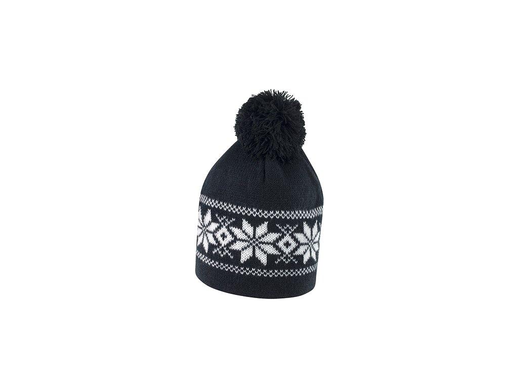 pánská zimní čepice černá