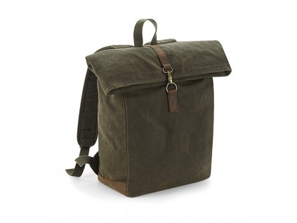 batoh heritage waxed canvas olive