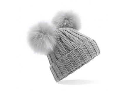 zimní čepice pom