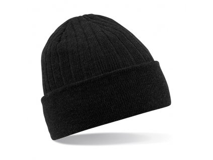pánská čepice černá classic