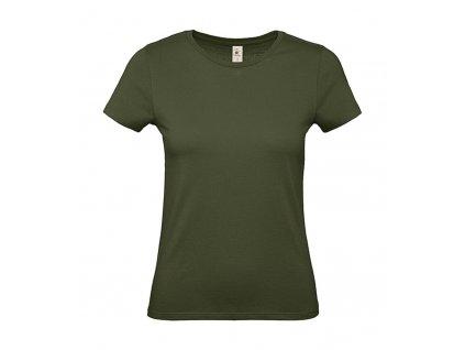 Dámské triko B&C (Velikost 2XL, Barva Apricot)