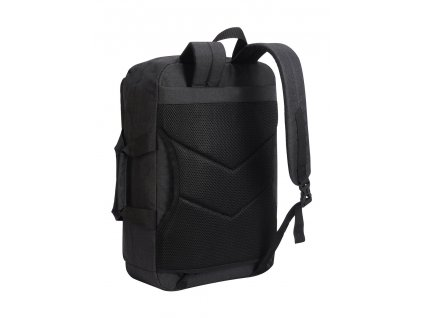 Batoh/taška na notebook Hybrid (Velikost One Size, Barva Charcoal Melange/Black)