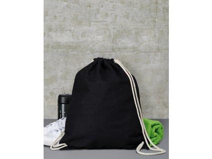 Bavlněný zatahovací batoh (Barva FAS_Buttercup, Velikost One Size)