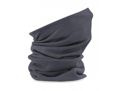 zimní nákrčník šedý