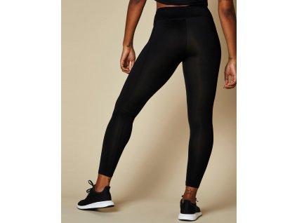Dlouhé dámské legíny Fashion fit <P/> (Barva Black, Velikost XL)