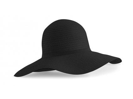 klobouk marbella černý