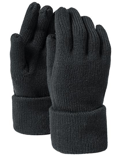 Beechfield Prodloužené rukavice Fine Barva: Černá, Velikost: S/M
