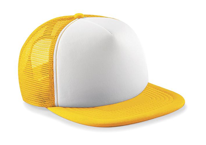 Beechfield Kšiltovka Trucker žlutá b6ea139caf
