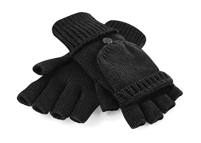 Beechfield Dámské stylové rukavice - černé Barva: Černá, Velikost: S/M