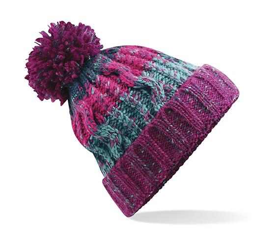 Levně Beechfield Zimní čepice Corkscrew Winter