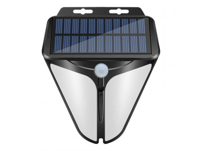 LEDSolar 30 nástěnná lampa se sensorem, bezdrátové, 1W, studená barva
