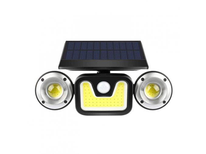 LEDSolar 83 COB vonkajšie svetlo, bezdrôtové, 5W, studené sv.