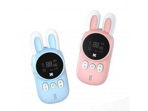 Children s Walkie Talkie Kids Mini Toys Handheld Transceiver 3KM Range UHF Radio Lanyard Interphone For.jpg q50 (1)