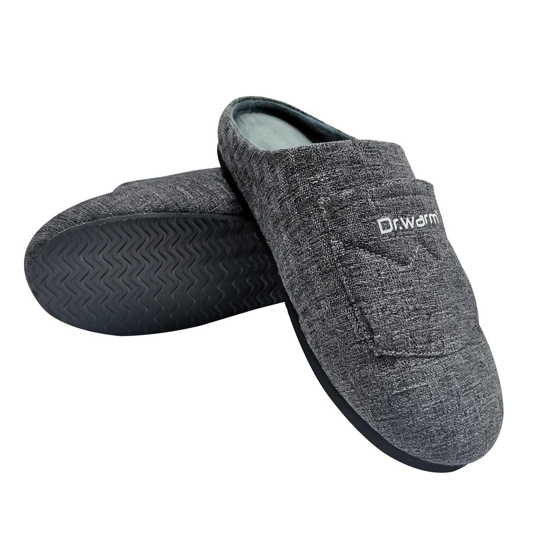 Vyhrievané papuče pantofle Dr. Warm vel. M