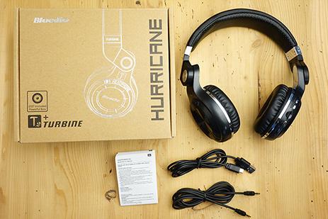 Recenze Bluetooth sluchátka přes hlavu Bluedio T2+