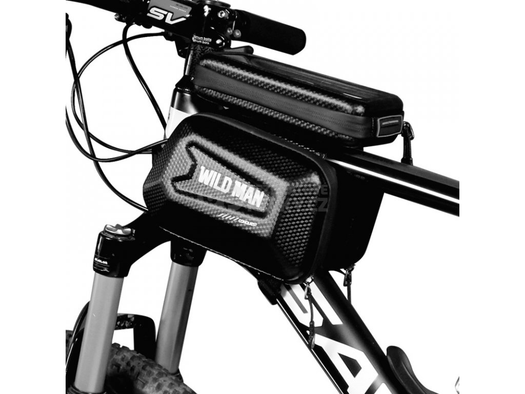 cyklo brasna na ram pro mobil na tyc kola wild man e6s
