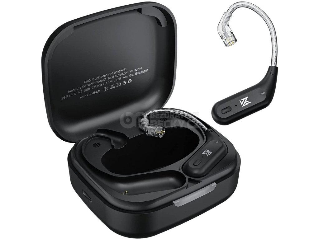 bluetooth kabel za usi pro sluchatka kz c pin az09 nabijeci krabicka