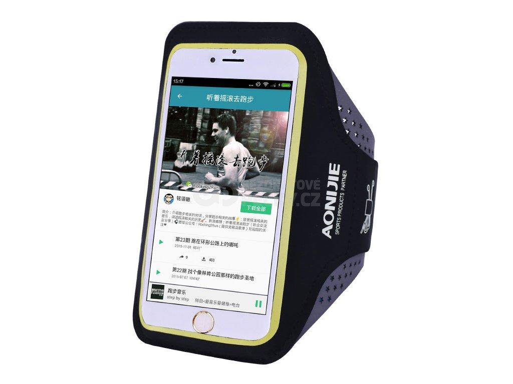 pouzdro na mobil na ruku pro behani aonijie t880