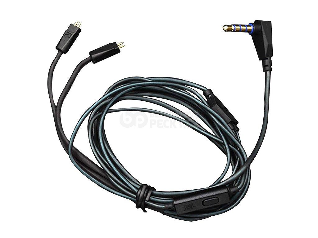 originalni kabel s mikrofonem ke sluchatkum kz zs3 zs5 zs6