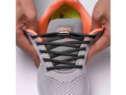 Davay SLIP pružné tkaničky do bot bez zavazování 110cm