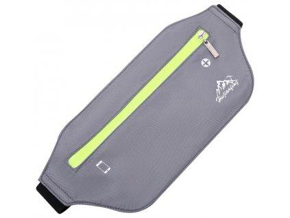 hwjianfeng 1801 sportovni ledvinka na mobil na beh šedá