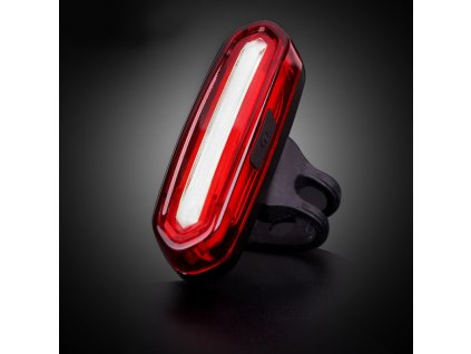 zadni svetlo na kolo cob cervene led