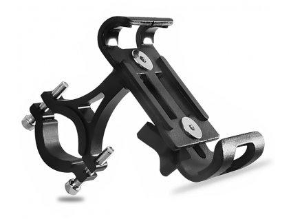 drzak pro mobil na kolo kovovy spolehlivy cerna west biking yp0715043